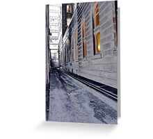 King St. Alley Greeting Card