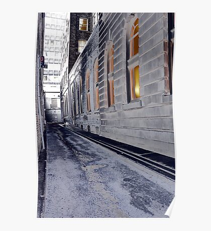 King St. Alley Poster