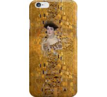 Klimt -  Woman in Gold - The Kiss iPhone Case/Skin