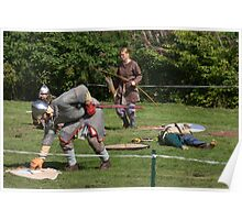 Medieval Fighters Poster