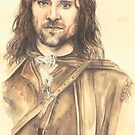 Aragorn by morgansartworld