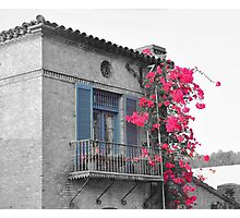 Malaga Cove Plaza Balcony Photographic Print
