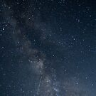 Shooting Stars in the Milky Way by Nolan Nitschke