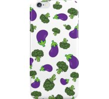 Broccoli Vs Aubergine - TYWG iPhone Case/Skin