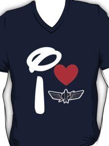 I Heart Star Command (Inverted) T-Shirt
