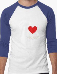 I Heart Star Command (Inverted) Men's Baseball ¾ T-Shirt