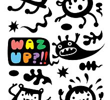 Waz Up?   by Andi Bird