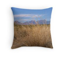 Desert View, Organ Mountians Throw Pillow