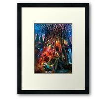 The Foxglove Ball Framed Print