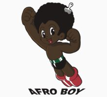 Afro Boy - Text by Oran