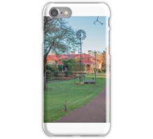 Edenvale Homestead with Windmill Pinjarra Western Australia iPhone Case/Skin