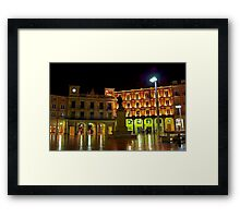 Plaza Mayor BURGOS Framed Print