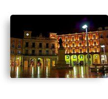 Plaza Mayor BURGOS Canvas Print
