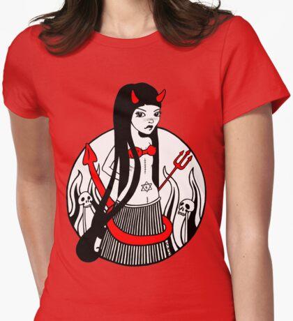 Dee Dee Diabla Tee Womens Fitted T-Shirt