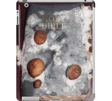 Holy bible with mushroom iPad Case/Skin