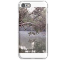 Murray River looking West towards the Church Jetty iPhone Case/Skin