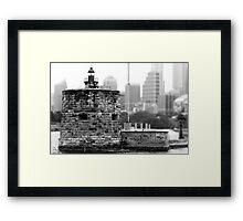 Fort Denison - Sydney, NSW, Australia Framed Print