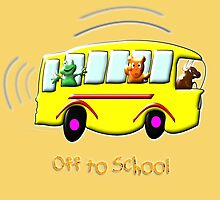 Off to School design by Dennis Melling