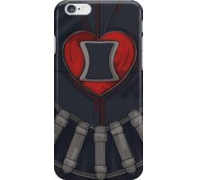 Black Widow Heart iPhone Case/Skin