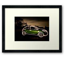 Mazda Framed Print