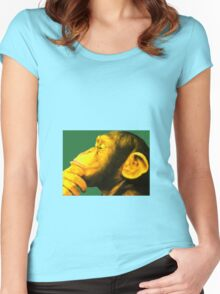 Homo sapiens Women's Fitted Scoop T-Shirt