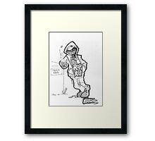 Da Boy Ganxstas - Kallum Framed Print