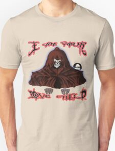 GRIM REAPER AND SIDE KICK/ I AM YOUR LOVE CHILD  T-Shirt