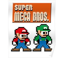 Super Mega Bros. Poster