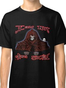 GRIM REAPER AND SIDE KICK/ I AM NOT ANTI-SOCIAL Classic T-Shirt