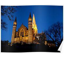 Bendigo Cathedral Poster