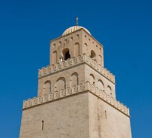 Kairouan Minaret by MuhammadAtif