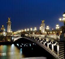 Pont Alexander III, Paris by Bruce Alexander
