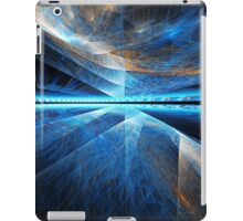 Clouds above - digital abstract artwork iPad Case/Skin