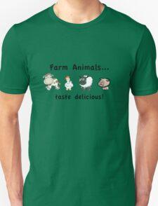 Farm Animals Taste Delicious Unisex T-Shirt