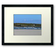 Port Noo - The Island Framed Print