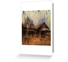 The Homestead Series:  Wildfire Greeting Card