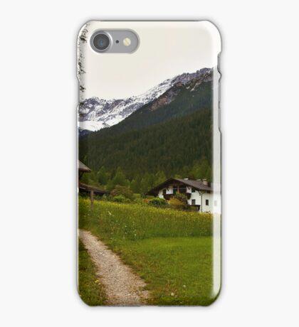 Rural Idyll in Alps iPhone Case/Skin