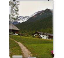 Rural Idyll in Alps iPad Case/Skin