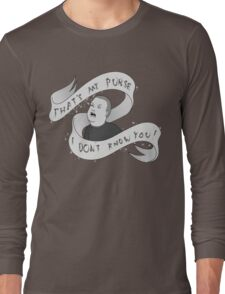 That's my purse! Black and white Long Sleeve T-Shirt