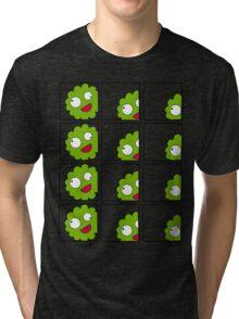 Stupid Me in Green Tri-blend T-Shirt