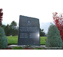 Veterans Memorial Photographic Print