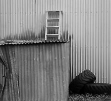 Dented Shed by Kimberly Petersen