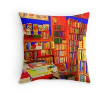 So Many Books, So Little Time...Part 1 Throw Pillow