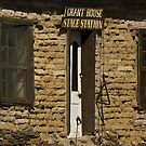 Grant House Stage Station - Shakespeare, NM by Vicki Pelham