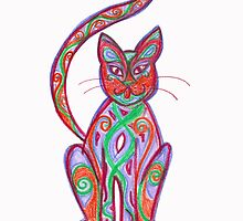 coloured cat by Soxy Fleming