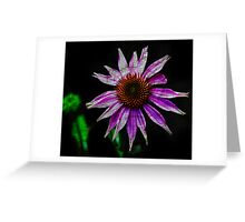 Pink Texture Greeting Card
