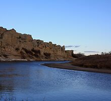 Milk River Hoodoos by Alyce Taylor