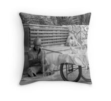 Fishing net tangles Throw Pillow
