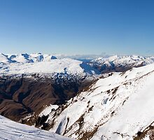 Coronet Peak Panorama by Will Hore-Lacy