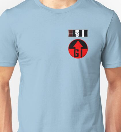 Helm BioChip and GI Badge Unisex T-Shirt